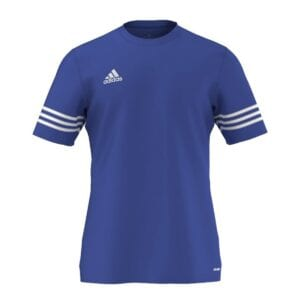 T-Shirt Adidas Entrada azzurro-bianco