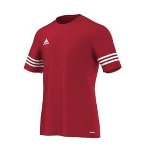 T-Shirt Adidas Entrada rosso-bianco