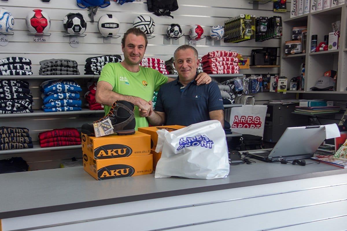 A.R.E.S. SPORT sponsor tecnico delle Guide di Cooperativa in Quiete.