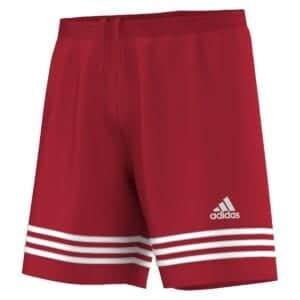 Short Adidas Entrada rosso-bianco