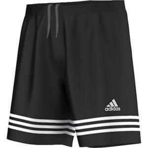 Short Adidas Entrada nero-bianco