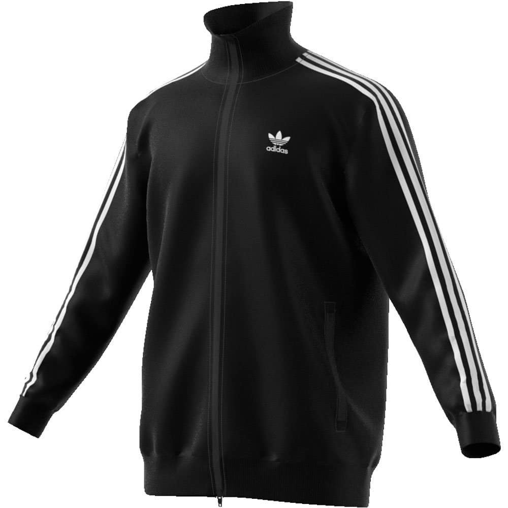 Felpa Adidas Beckenbauer TT zip lunga uomo nera | Ares Sport