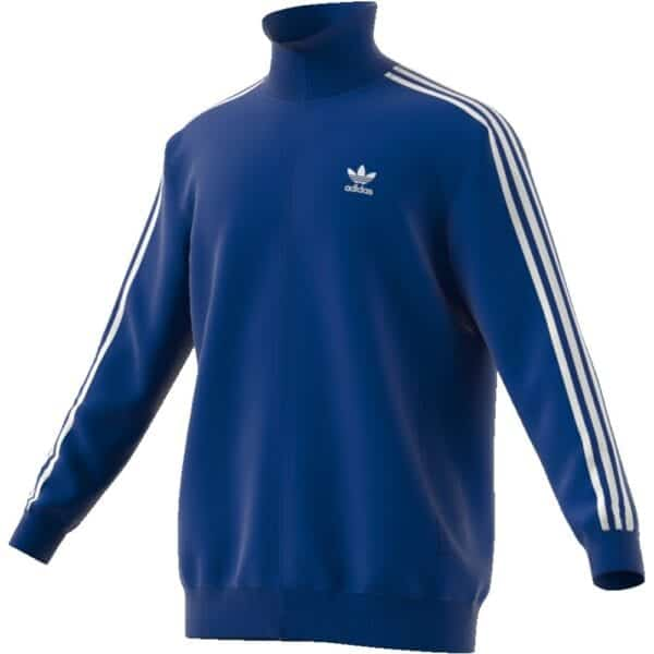 Felpa Adidas Beckenbauer TT zip lunga uomo royal | Ares Sport