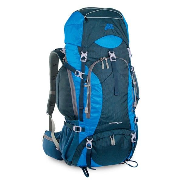zaino NETTUNO 55 escursionismo scout viaggi colore blu azzurro