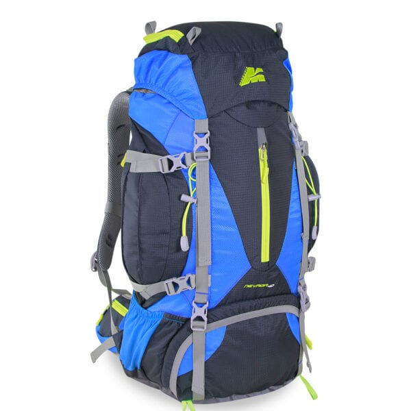 zaino trekking nevada 40 litri colore blu azzurro